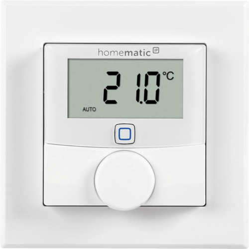 eQ-3 Homematic IP Wandthermostat mit Schaltausgang 24 V